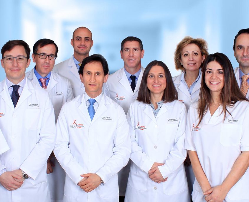 Alai Sports Medicine Clinic - Traumatología General y Deportiva - Equipo