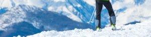 Paisaje de Esquí